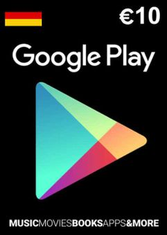 Google Play 10 EUR Gift Card (Germany)