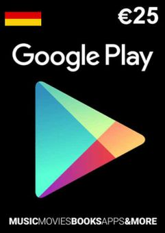 Google Play 25 EUR Gift Card (Germany)