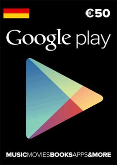 Google Play 50 EUR Gift Card (Germany)