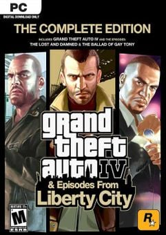 Grand Theft Auto IV 4: Complete Edition PC