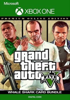 Grand Theft Auto V: Premium Online Edition & Whale Shark Card Bundle Xbox One (UK)