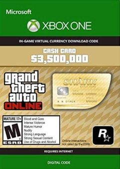 Grand Theft Auto V - Whale Shark Cash Card Xbox One (UK)