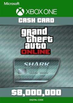 Grand Theft Auto V - Megalodon Cash Card Xbox One (EU)