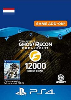 Ghost Recon Breakpoint - 12000 Ghost Coins PS4 (Netherlands)