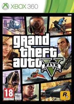 Grand Theft Auto V 5 Xbox 360 - Digital Code