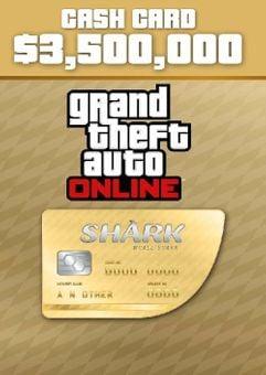 GTA V 5 Whale Shark Cash Card - Xbox One Digital Code