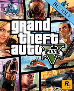 Grand Theft Auto V 5 - Whale Shark Card Bundle PC