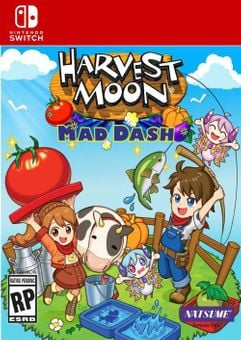 Harvest Moon - Mad Dash Switch (EU)