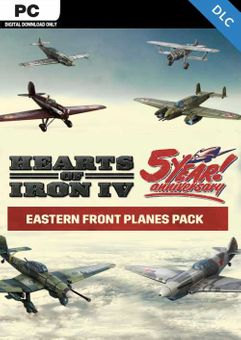 Hearts of Iron IV: Eastern Front Planes Pack PC - DLC