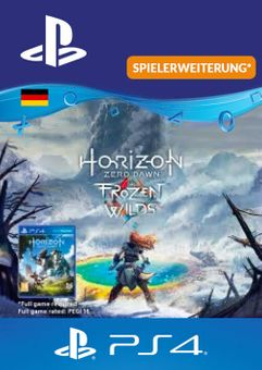 Horizon Zero Dawn Frozen Wild  PS4 (Germany)