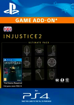 Injustice 2 Ultimate Pack PS4