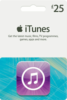 iTunes Gift Card - £25