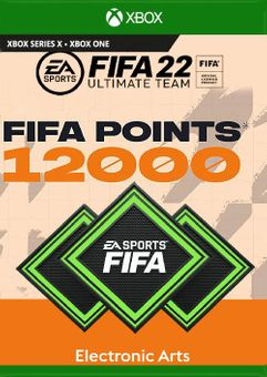 FIFA 22 Ultimate Team 12000 Points Pack Xbox One/ Xbox Series X|S