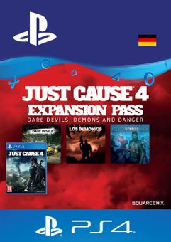 Just Cause 4  Expansion Pass PS4 (Germany)