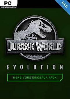 Jurassic World Evolution PC: Herbivore Dinosaur Pack DLC