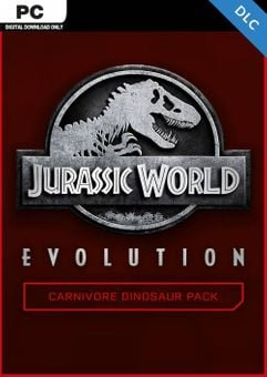 Jurassic World Evolution PC: Carnivore Dinosaur Pack DLC