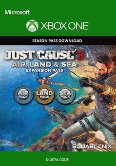 Just Cause 3  Land, Sea, Air Expansion Pass Xbox One