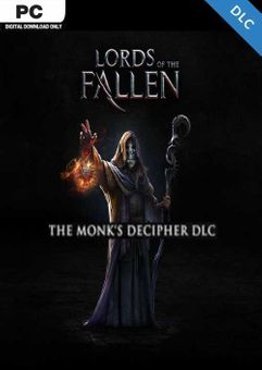Lords of the Fallen - Monk Decipher PC - DLC