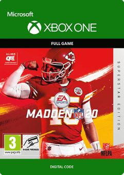 Madden NFL 20 Superstar Edition Xbox One