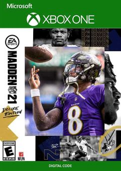 Madden NFL 21: Deluxe Edition Xbox One (UK)