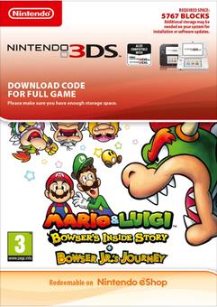 Mario and Luigi Bowsers Inside Story and Bowser Jrs Journey 3DS