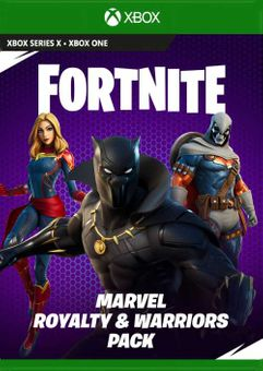Fortnite - Marvel: Royalty & Warriors Pack Xbox One (UK)