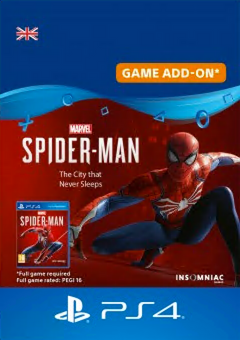 Marvels Spider-Man: The City That Never Sleeps PS4