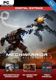 MechWarrior 5: Mercenaries - Digital Extras Content PC