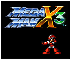 Mega Man X3 3DS - Game Code (ENG)