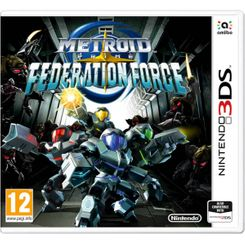 Metroid Prime Federation Force 3DS - Game Code