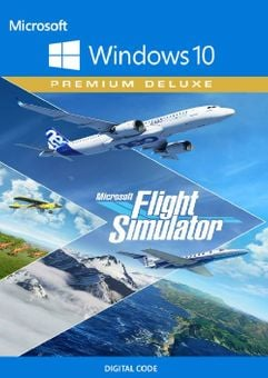 Microsoft Flight Simulator Premium Deluxe Windows 10 PC