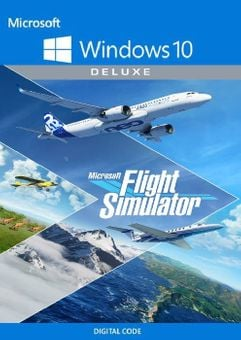 Microsoft Flight Simulator: Deluxe Edition - Windows 10 PC (US)