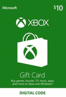 Microsoft Gift Card - $10 (Xbox One/360)
