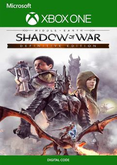 Middle Earth: Shadow of War Definitive Edition Xbox One/Xbox Series X|S/ Windows 10 (Brazil)