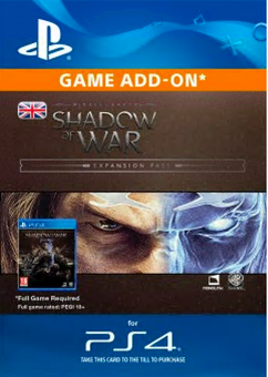 Middle-Earth: Shadow of War Expansion Pass PS4