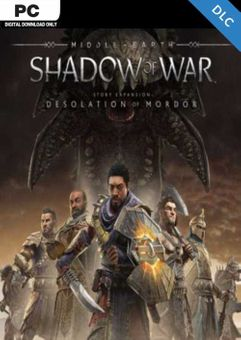 Middle earth Shadow of War The Desolation of Mordor Story Expansion PC - DLC