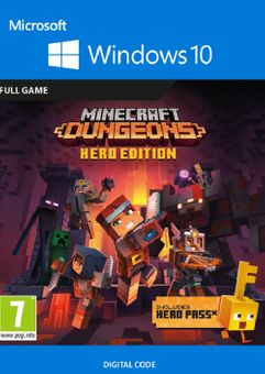 Minecraft Dungeons: Hero Edition - Windows 10 PC (UK)