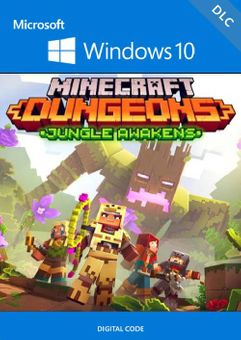 Minecraft Dungeons: Jungle Awakens Windows 10 PC - DLC (UK)