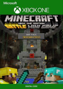 Minecraft Battle Map Pack Season Pass Xbox One (EU)