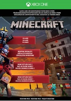 Minecraft Xbox One - Redstone Pack DLC