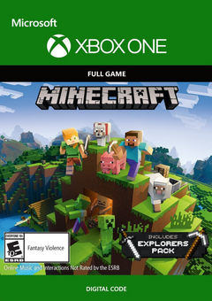 Minecraft Explorers Pack - Xbox One