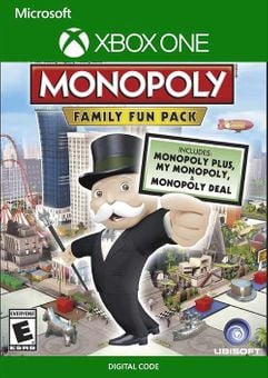 Monopoly Family Fun Pack Xbox One (UK)