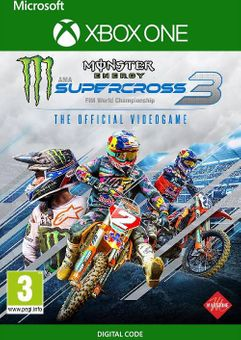 Monster Energy Supercross - The Official Videogame 3 Xbox One (UK)