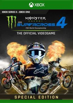 Monster Energy Supercross 4 Special Edition Xbox One (UK)
