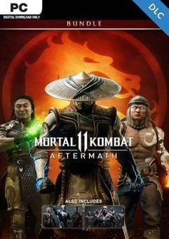 Mortal Kombat 11: Aftermath + Kombat Pack Bundle PC - DLC