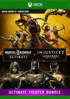 Mortal Kombat 11 Ultimate + Injustice 2 Leg. Edition Bundle Xbox One (UK)