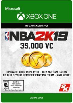 NBA 2K19: 35,000 VC Xbox One