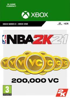 NBA 2K21: 200,000 VC Xbox One