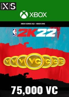 NBA 2K22 75,000 VC Xbox One/ Xbox Series X|S