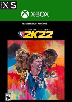 NBA 2K22 NBA 75th Anniversary Edition Xbox One & Xbox Series X|S (WW)